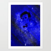 doctor who Art Prints featuring Doctor Who by Fimbis