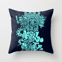 Kill The King. Throw Pillow