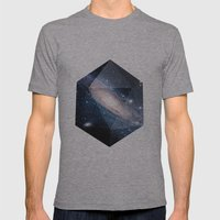 Cosmic Chance Mens Fitted Tee Athletic Grey SMALL