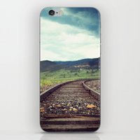 Travel Alone iPhone & iPod Skin