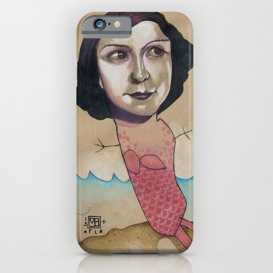 PINK MERMAID iPhone & iPod Case