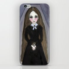 Miss Claire and Anna, Victorian Goth Portrait iPhone & iPod Skin