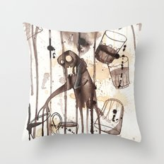 Must Have Coffee Throw Pillow