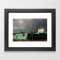 The Grand Motel Framed Art Print