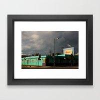 The Grand Motel Framed Art Print