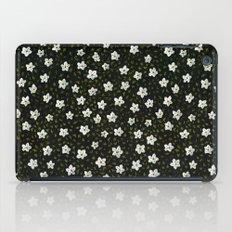 White Spring Flowers iPad Case