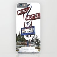 iPhone & iPod Case featuring Biltmor Motel sign by Vorona Photography