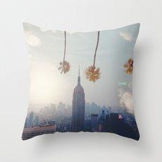 COAST TO COAST Throw Pillow