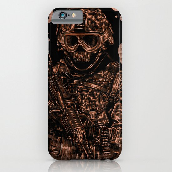 Military skull iPhone & iPod Case