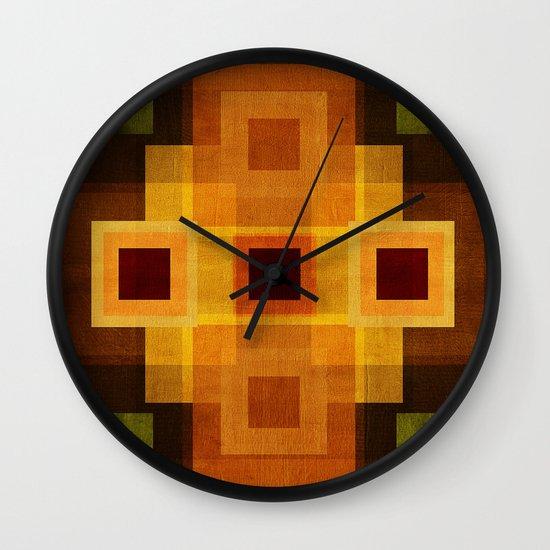 Textures/Abstract 95 Wall Clock