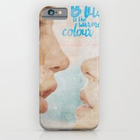 Blue is the warmest colour - chapter one - hand-painted movie poster -  iPhone 6 Slim Case