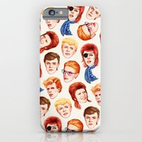 iPhone Cases featuring David by Helen Green