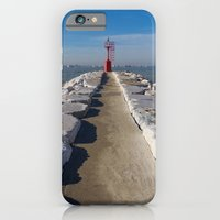 iPhone & iPod Case featuring Le Phare by MoreOrLens