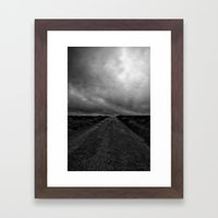 My Road To No Where Framed Art Print