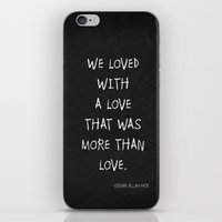 More Than Love Poster 01 iPhone & iPod Skin