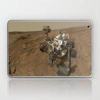 NASA Curiosity Rover's Self Portrait at 'John Klein' Drilling Site in HD Laptop & iPad Skin