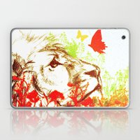 Beast and the Butterflies II Laptop & iPad Skin