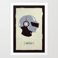 Daft Punk - RAM (Thomas) Art Print