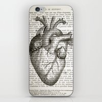 Anatomical Heart on French iPhone & iPod Skin