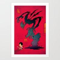 Mister Boogey Art Print