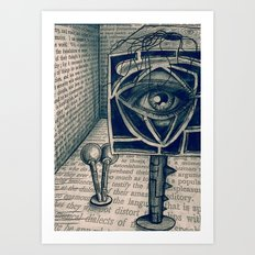 i saw everything Art Print