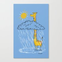 The Perks Of Being A Gir… Canvas Print