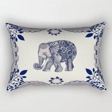 Elephant Pink Rectangular Pillow