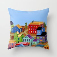 Tigertown Throw Pillow
