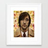 Jason Schwartzman Framed Art Print