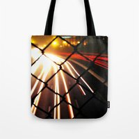 Streaming Light Tote Bag