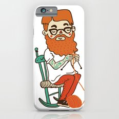 Wool beard iPhone 6 Slim Case