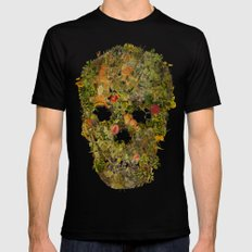 LIFE AND DEATH SMALL Mens Fitted Tee Black