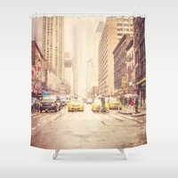 Rainy Day in NYC Shower Curtain