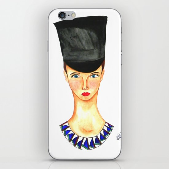 Soldier Girl iPhone & iPod Skin
