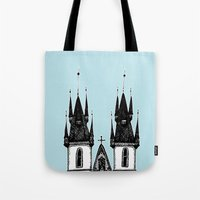 Tyn Church - Prague Tote Bag