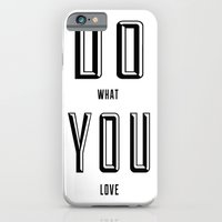 iPhone & iPod Case featuring DO YOU by natalie sales