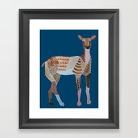 Doe Framed Art Print