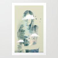 Natures Heart Art Print