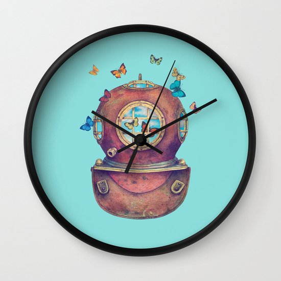 Inner Space  Wall Clock