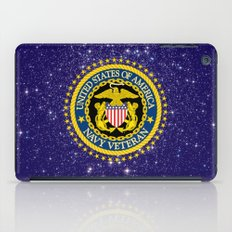 US Navy Veteran iPad Case