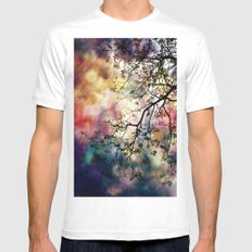 the Tree of Many Colors Mens Fitted Tee White SMALL