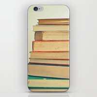 Stack Of Books iPhone & iPod Skin