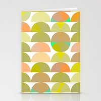 Geometric Juice Stationery Cards