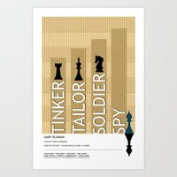Tinker Tailor Soldier Spy Art Print