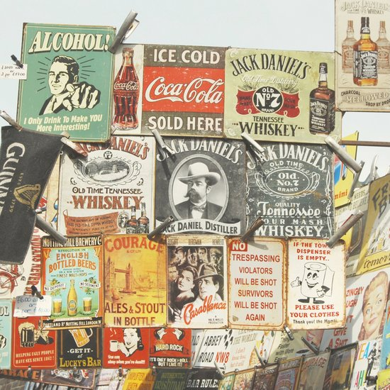 Vintage Signs - London Photography Art Print