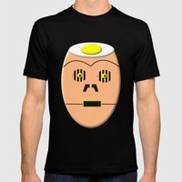 Eggy 3PO Mens Fitted Tee Black SMALL
