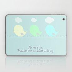 no one is free Laptop & iPad Skin
