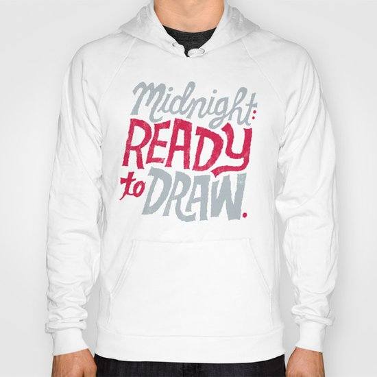 Midnight: Ready to Draw Hoody