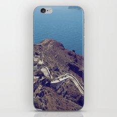 Santorini Stairs iPhone & iPod Skin