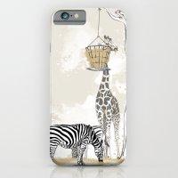 Zoo : Tigre, Zèbre, Girafe iPhone 6 Slim Case